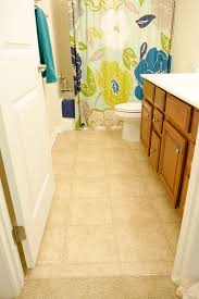 Vinyl tiles are great bathroom remodeling material